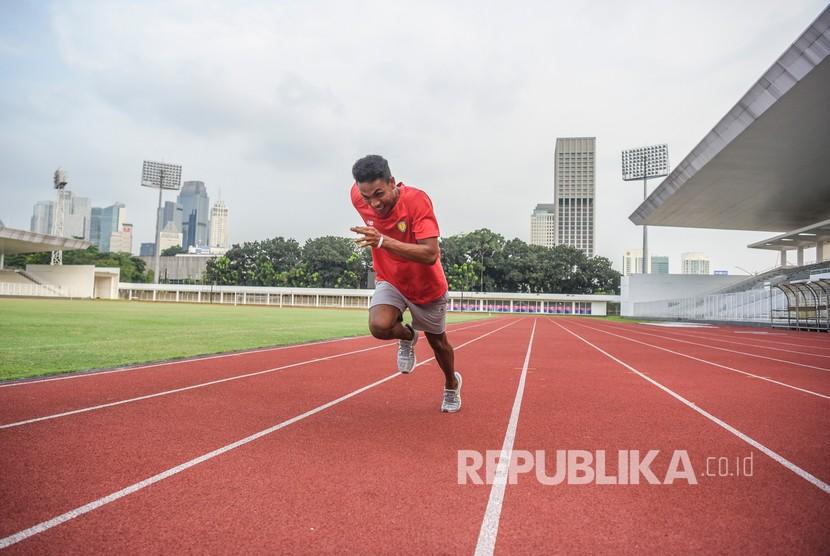 Pelari Indonesia Lalu Muhammad Zohri.
