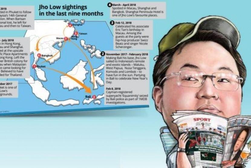 Pelarian buronan skandal 1MDB, Jho Low