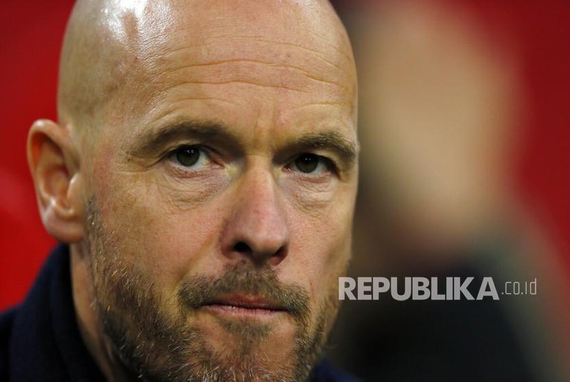 Pelatih Ajax Amsterdam Erik ten Hag