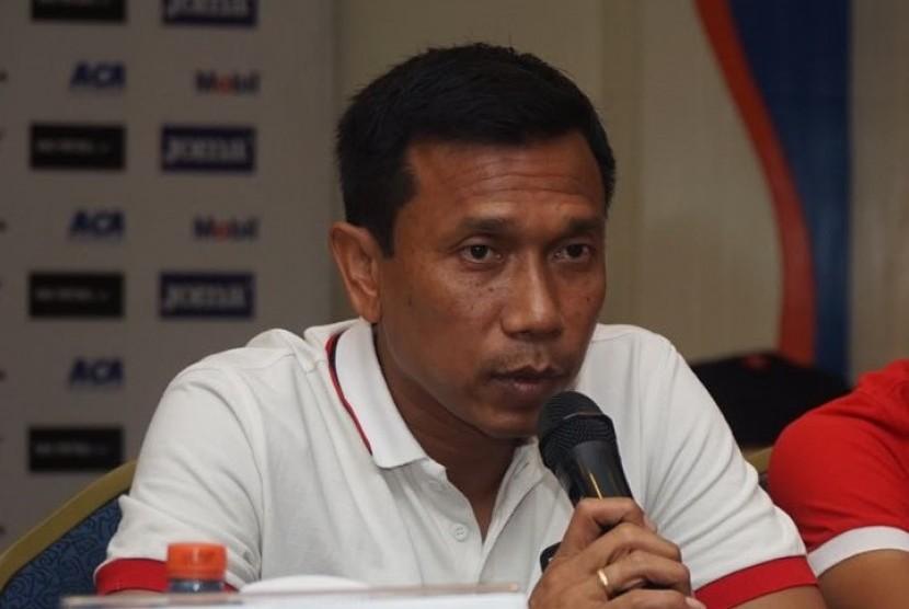 Pelatih Bali United WIdodo Cahyono Putro.
