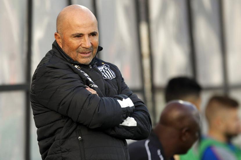Pelatih Marseille, Jorge Sampaoli.