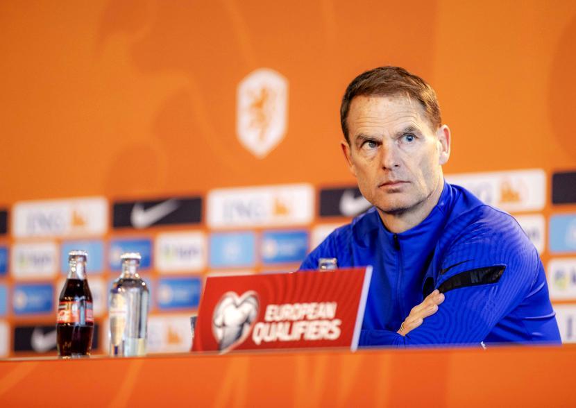 Pelatih Belanda Frank de Boer