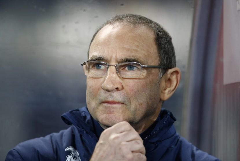 Pelatih Irlandia Martin O'Neill