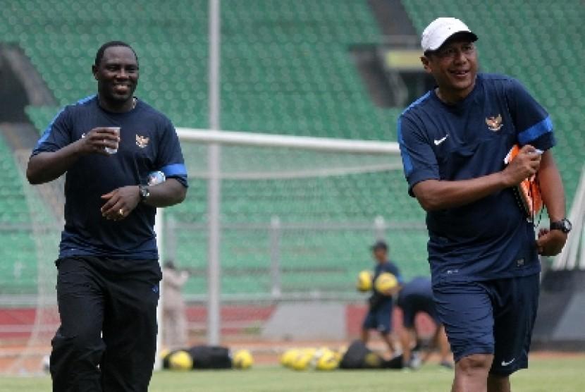 Pelatih Jacksen F Thiago.