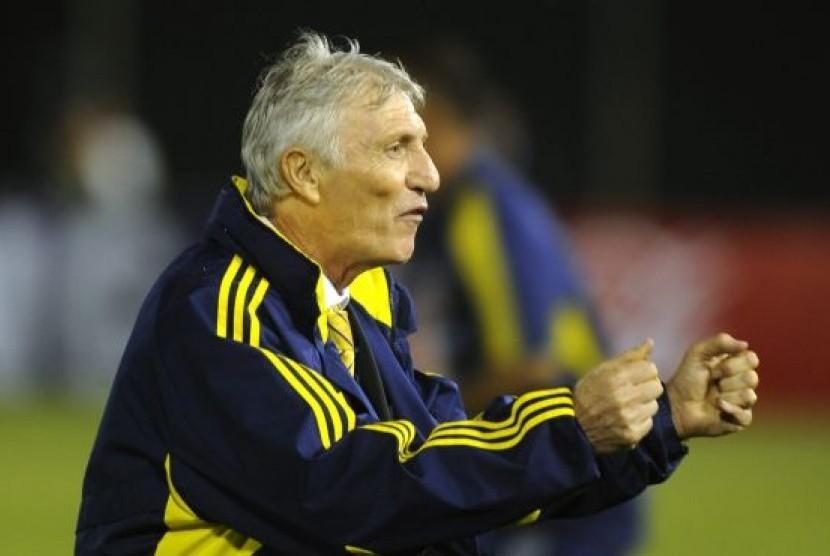 Pelatih Kolombia Jose Pekerman.