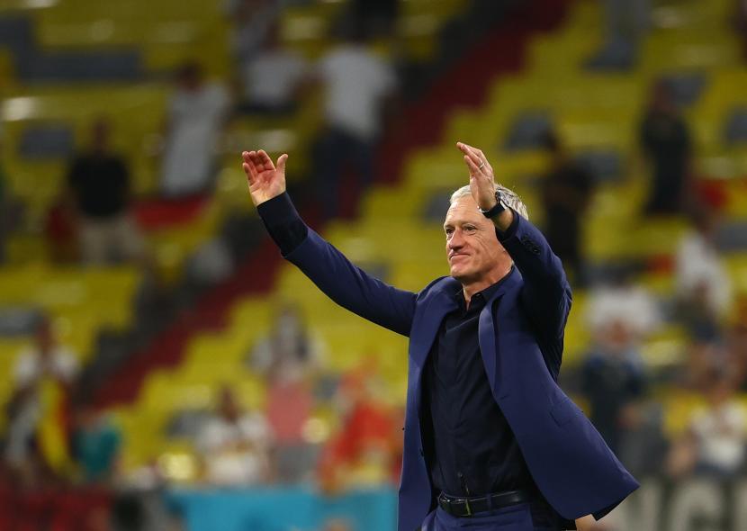 Pelatih kepala Prancis Didier Deschamps