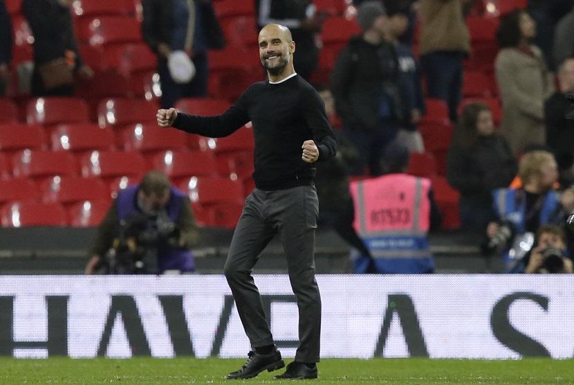 Pelatih Manchester City Pep Guardiola
