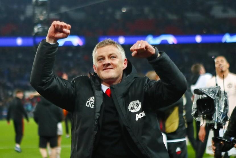 Pelatih Manchester United Ole Gunnar Solskjaer