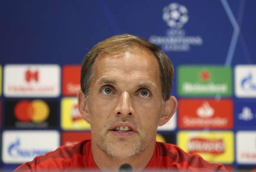 Pelatih Paris Saint-Germain Thomas Tuchel