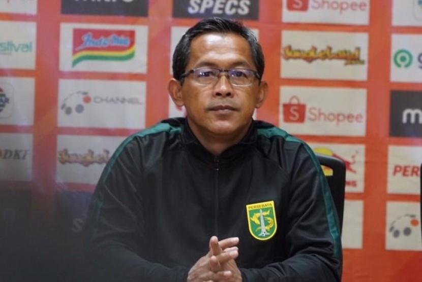 Pelatih Persebaya Surabaya Aji Santoso.