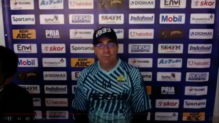 Pelatih Persib Tunggu Surat Resmi Mulainya Kompetisi Liga 1 _*