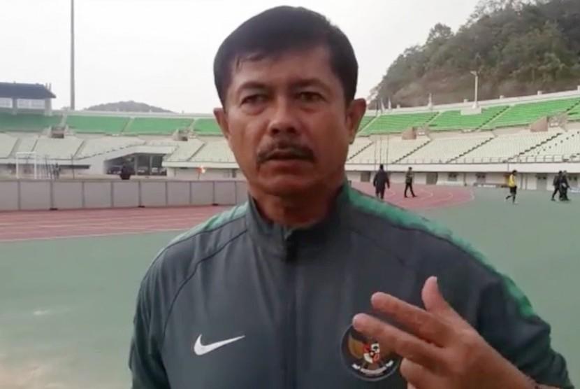 Pelatih Tim Nasional Indonesia U-19, Indra Sjafrie