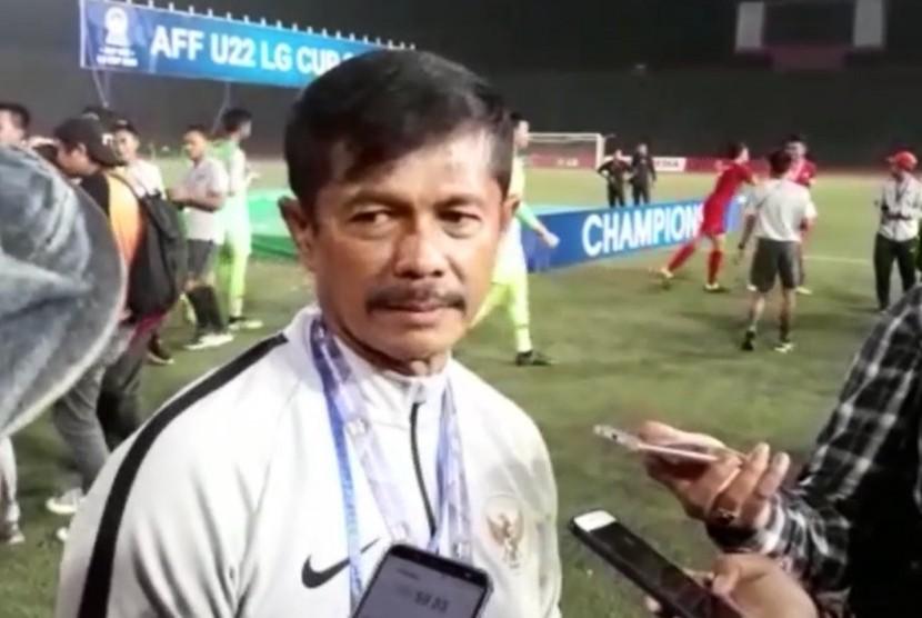 Pelatih Timnas Indonesia U-22, Indra Sjafri