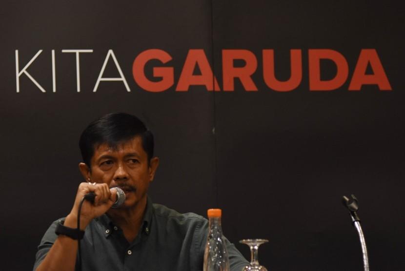 Pelatih timnas Indonesia U-22 Indra Sjafri.