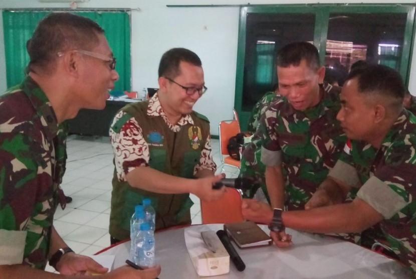 Pelatihan Kader Pembina Wisata Matematika Bela Negara di Kodam XII/Tanjung Pura Kalimantan Barat.