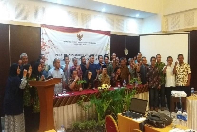 Pelatihan pengelolaan perkoperasian syariah BTM di Yogyakarta