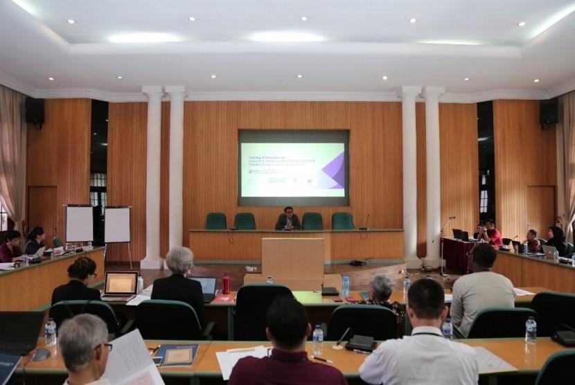 Pelatihan pengurangan resiko bencana yang digelar di Fakultas Geografi Universitas Gadjah Mada (UGM).