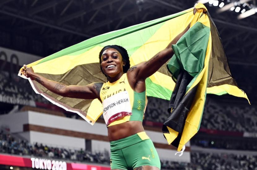 Pelatri Jamaika Elaine Thompson-Herah