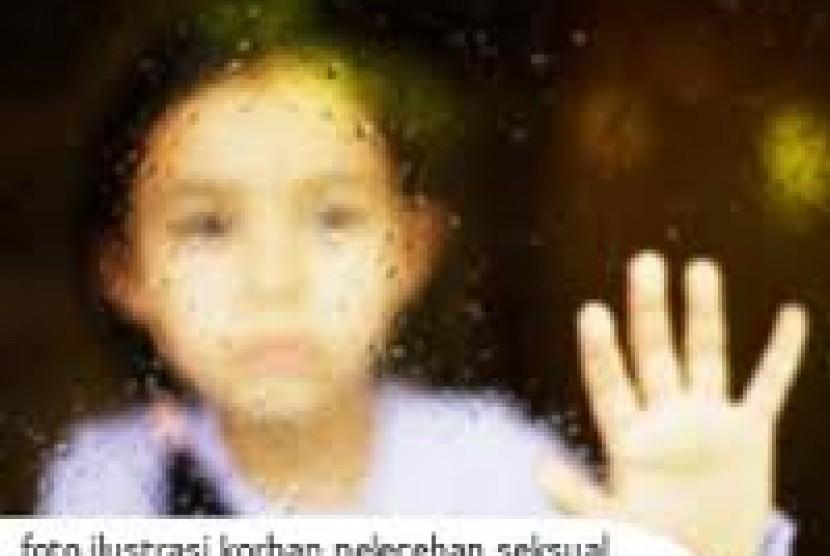 Pelecehan anak. Ilustrasi