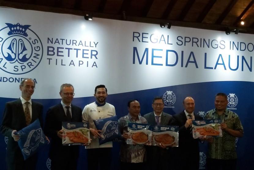 Peluncuran filet ikan tilapia oleh Regal Springs Indonesia.