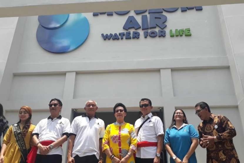 Peluncuran Museum Air Water for Life di Jogja Bay Waterpark, Sabtu (13/10). Peluncuran dilakukan Gusti Kanjeng Ratu (GKR) Hemas, Bupati Sleman Sri Purnomo dan CEO Jogja Bay Bambang Soeroso.