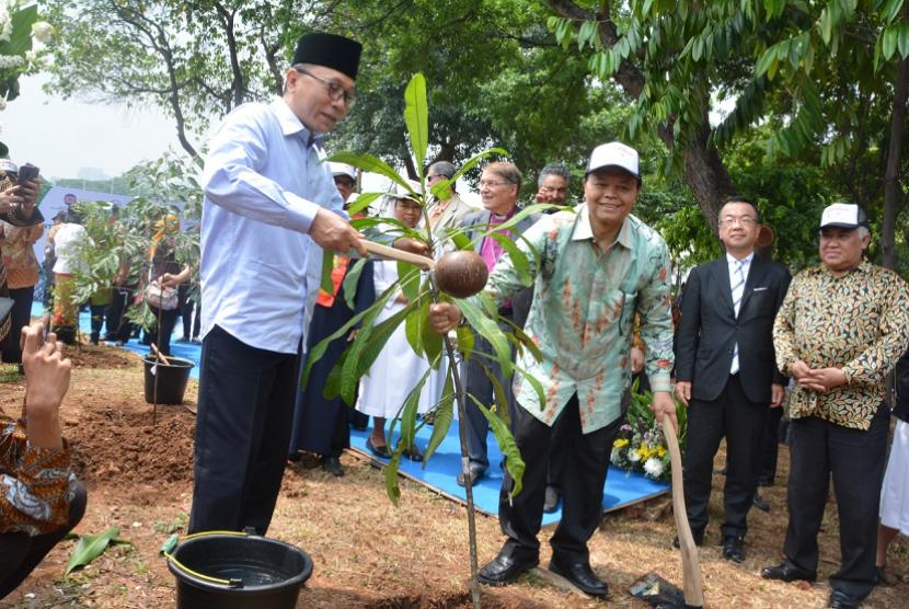 Peluncuran Prakarsa Lintas Agama Untuk Perlindungan Hutan Tropis Indonesia.