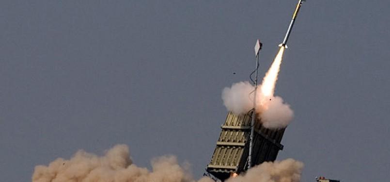 peluncuran sistem anti-rudal Israel