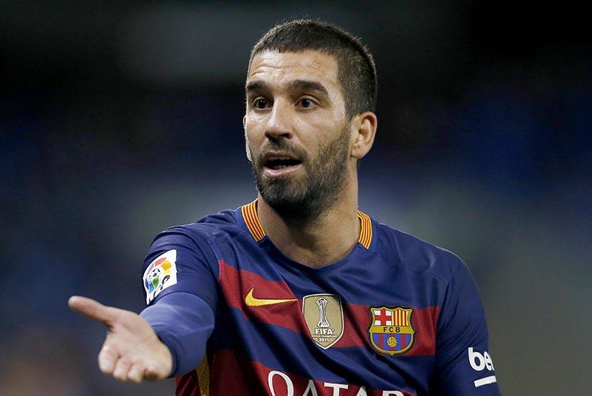 Pemain Barcelona, Arda Turan.