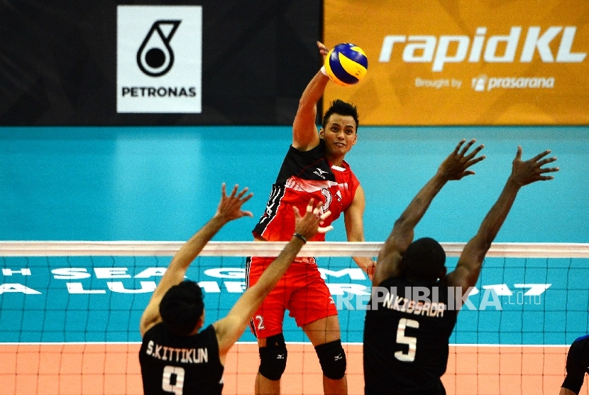 Kalah Dari Thailand Bola Voli Putra Raih Medali Perak Republika Online