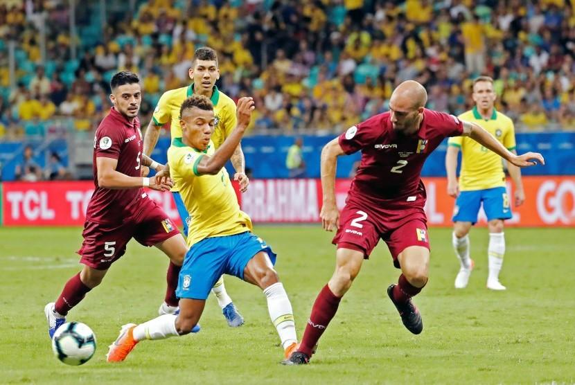 Brasil Ditahan Imbang Venezuela Tanpa Gol | Republika Online