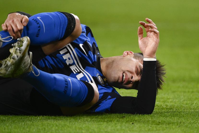 Penyerang Inter Milan Lautaro Martinez.