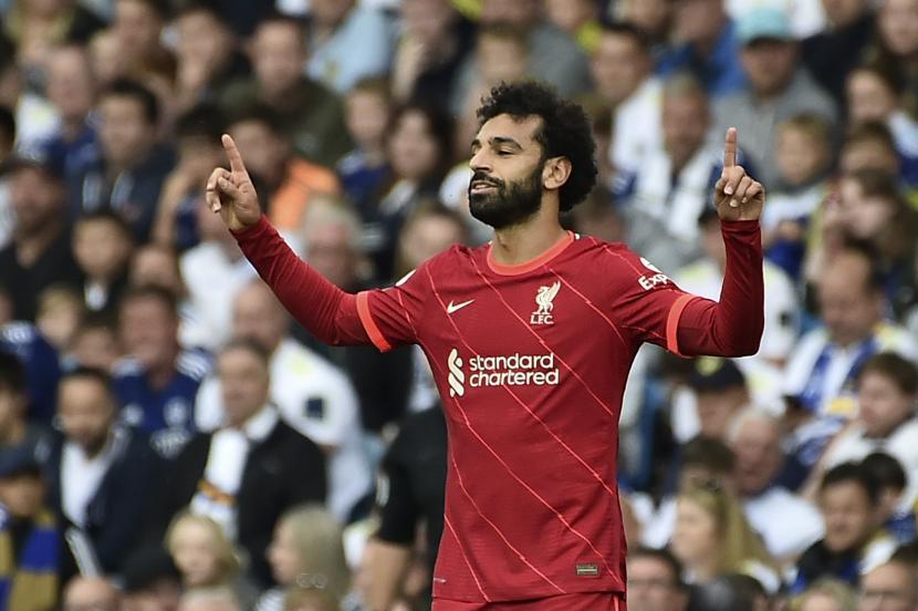 Striker Liverpool Mohamed Salah.