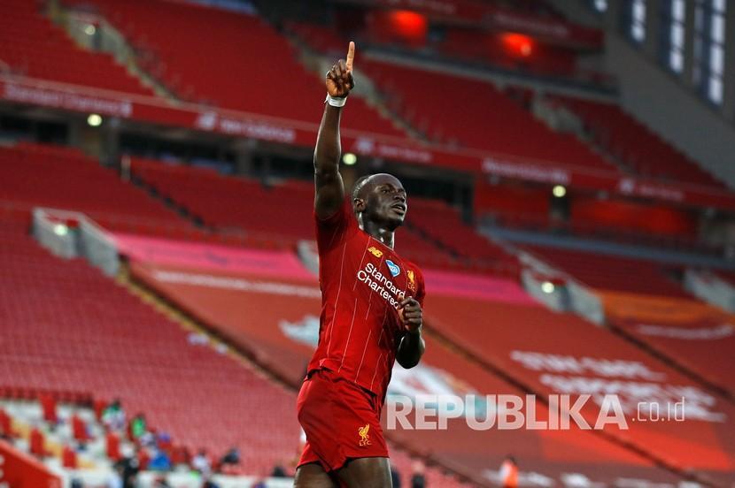 Babak Pertama, Liverpool dan Everton Bermain Imbang 1-1