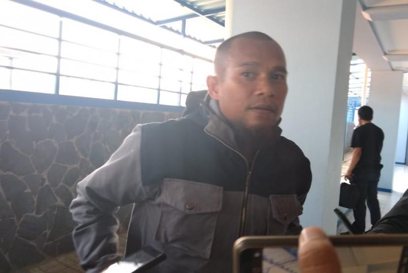 Pemain Persib Bandung, Supardi Nasir di SPOrT Jabar, Bandung, Jumat (20/7).