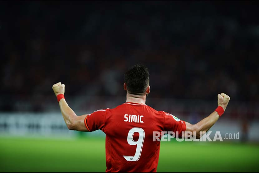 The Persija's player Marko Simic