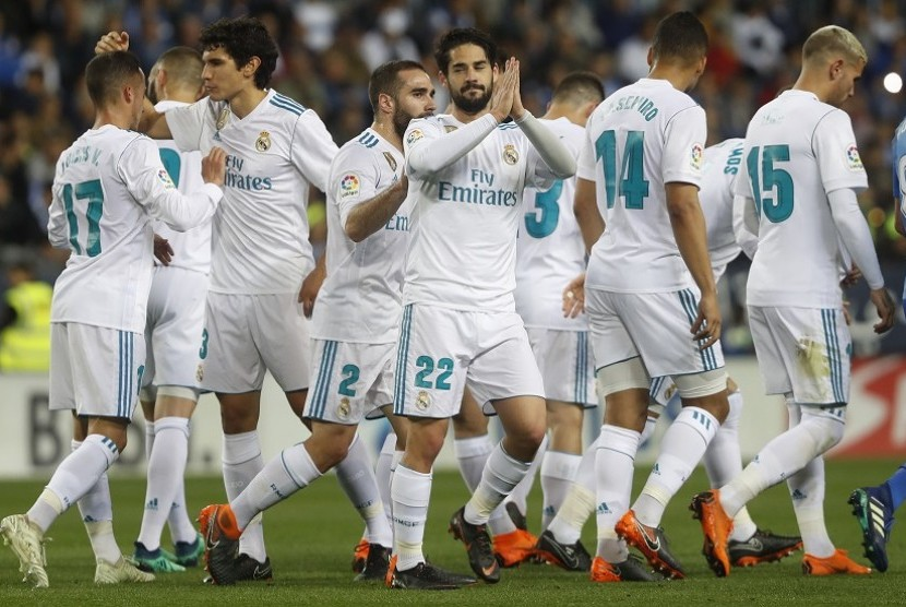 Pemain Real Madrid. (ilustrasi)