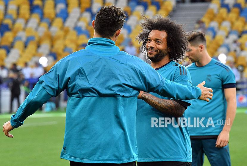 Para pemain Real Madrid. (ilustrasi)