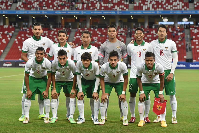 Pemain timnas Indonesia. (Antara/Wahyu Putro)