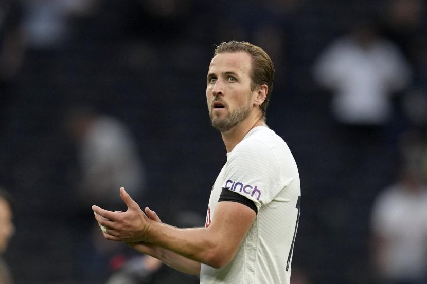 Pemain Tottenham Hotpur Harry Kane.