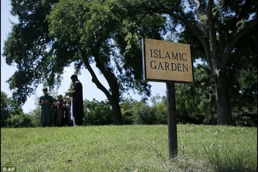 Pemakaman Muslim (ilustrasi)