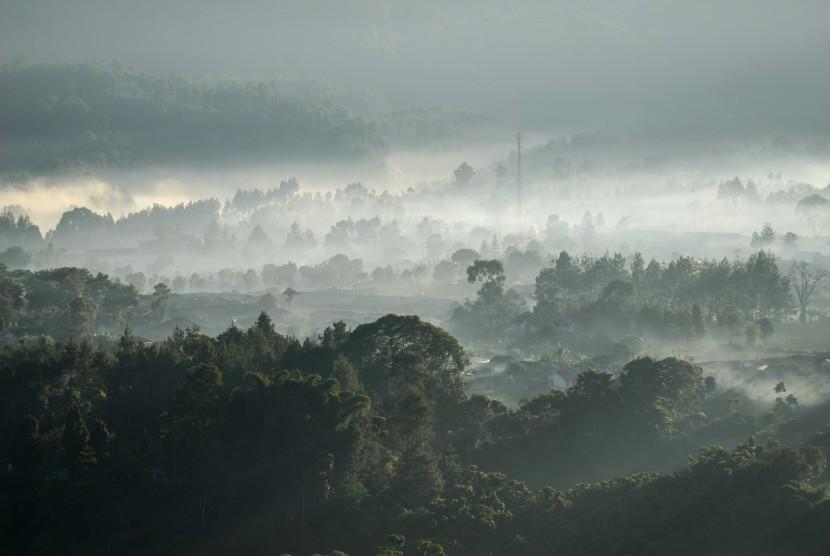 Pemandangan pedesaan (ilustrasi)