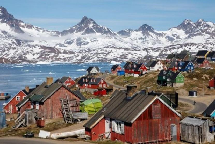 Pemandangan salah satu sudut Kota Greenland