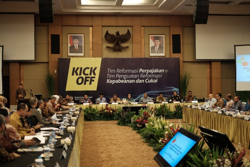 Pemaparan capaian program Penguatan Reformasi Kepabeanan dan Cukai (PRKC).
