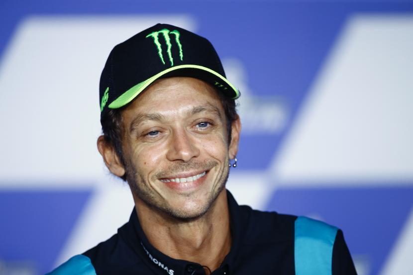 Valentino Rossi Yakin Prospek Pembalap MotoGP Italia Cerah