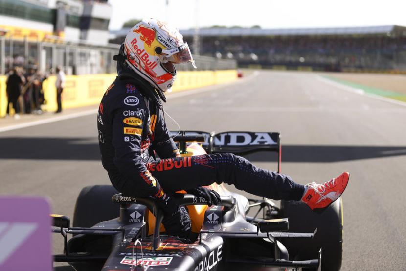 Pembalap Red Bull, Max Verstappen.