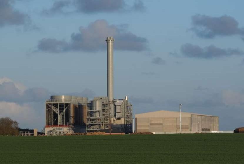 Pembangkit biomassa.