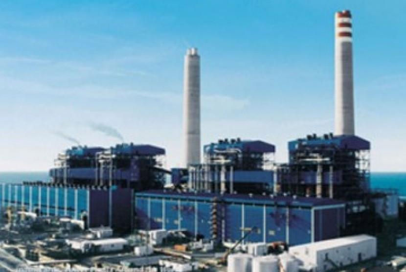 Pembangkit listrik, ilustrasi