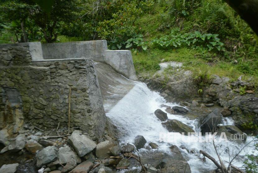 Pembangkit Listrik Tenaga Mikro Hidro (PLTMH). (Ilustrasi)