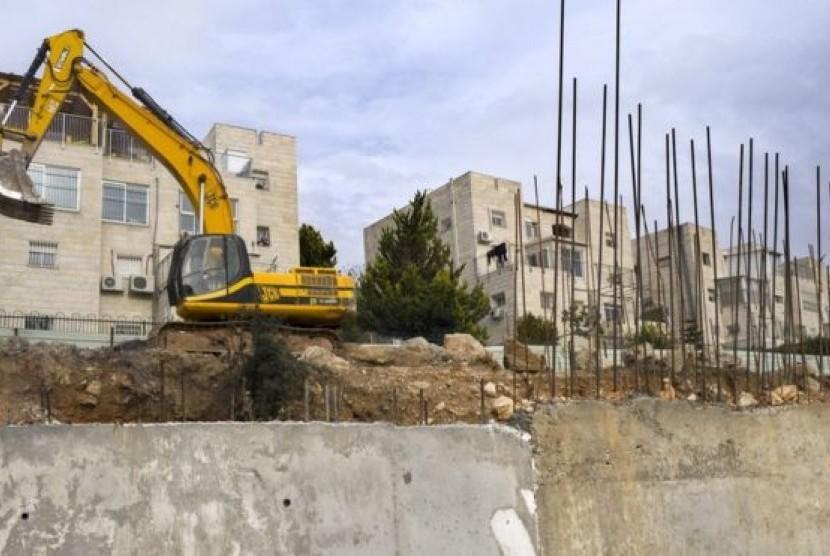 Pembangunan permukiman ilegal Israel di Tepi Barat dan Yerusalem Timur.