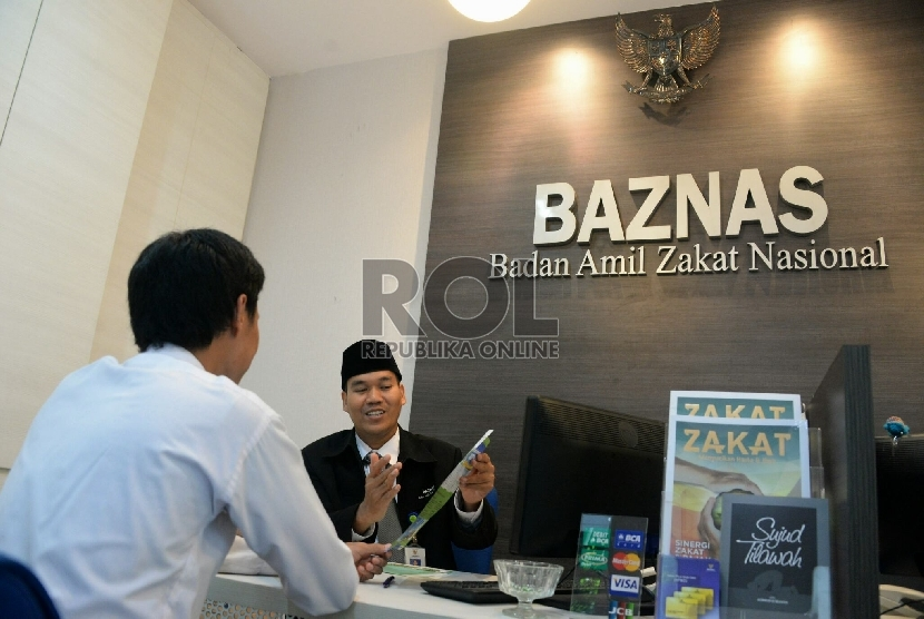 Pembayaran zakat di Baznas